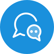 Float send a message icon